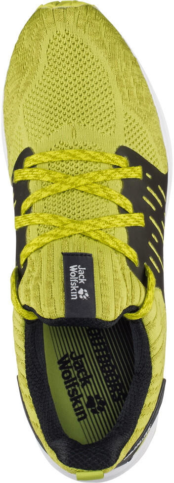 Jack Wolfskin Coogee Knit Low Shoes Herren green lime